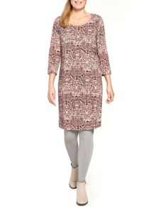 Sandwich Printed tunic dress