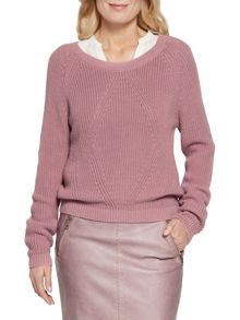 Sandwich Nostalgic rose cotton jumper