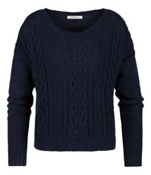 Sandwich Cable knit jumper