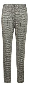 Feather print trouser