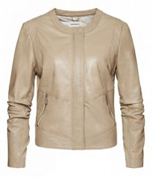 Sandwich Perforated leather jacket