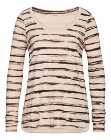 Painted stripe T-shirt