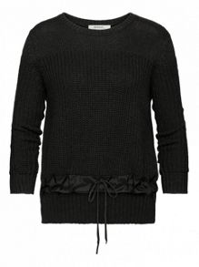 Sandwich Cotton rib jumper