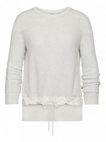 Cotton rib jumper