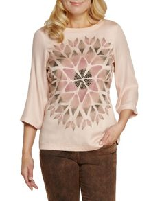 Sandwich Flower print top