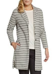 Long stripe jacket