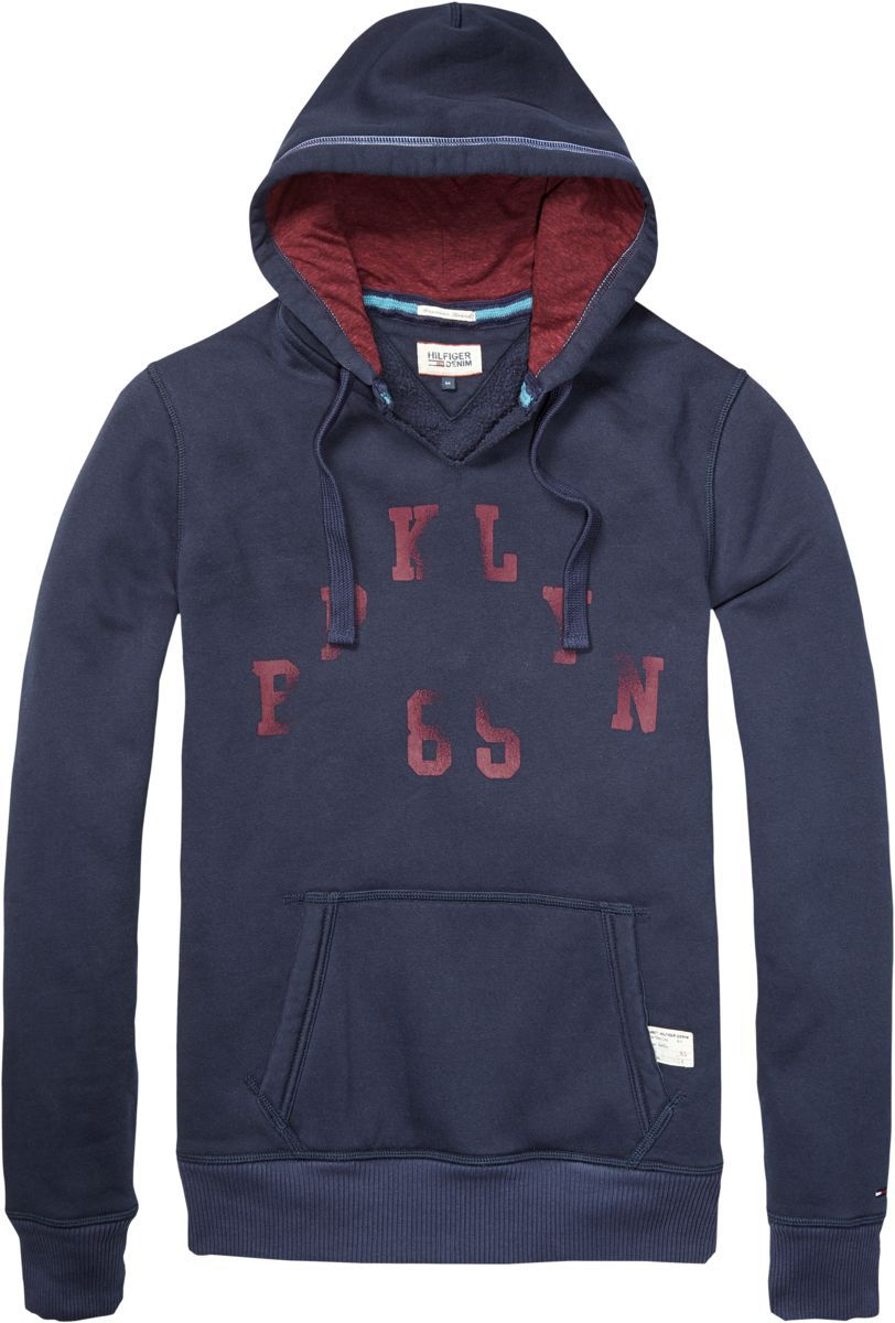 Laurence hooded top