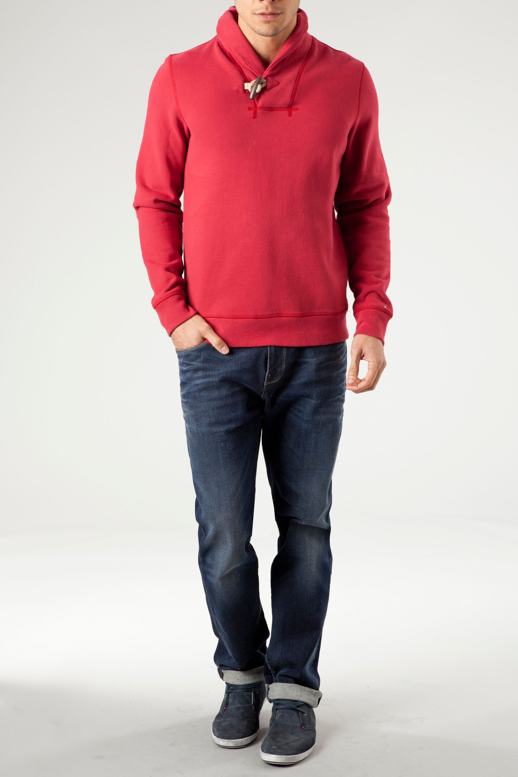 Tom shawl neck sweatshirt