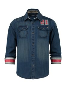Boys Denim shirt Billy Drake RF LS
