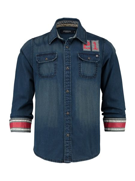 McGregor Boys Denim shirt Billy Drake RF LS