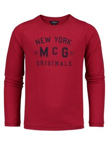 McGregor Boys Shirt Cody Tee Long Sleeve