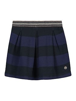 Girls Ivy Stripe Skirt