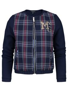 McGregor Girls Senna Bomber Jacket LS