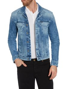 Button Denim Jacket