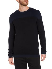 Pattern Crew Neck Pull Over Jumper