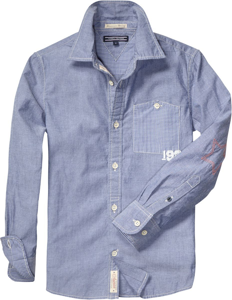 Boy`s chambray shirt