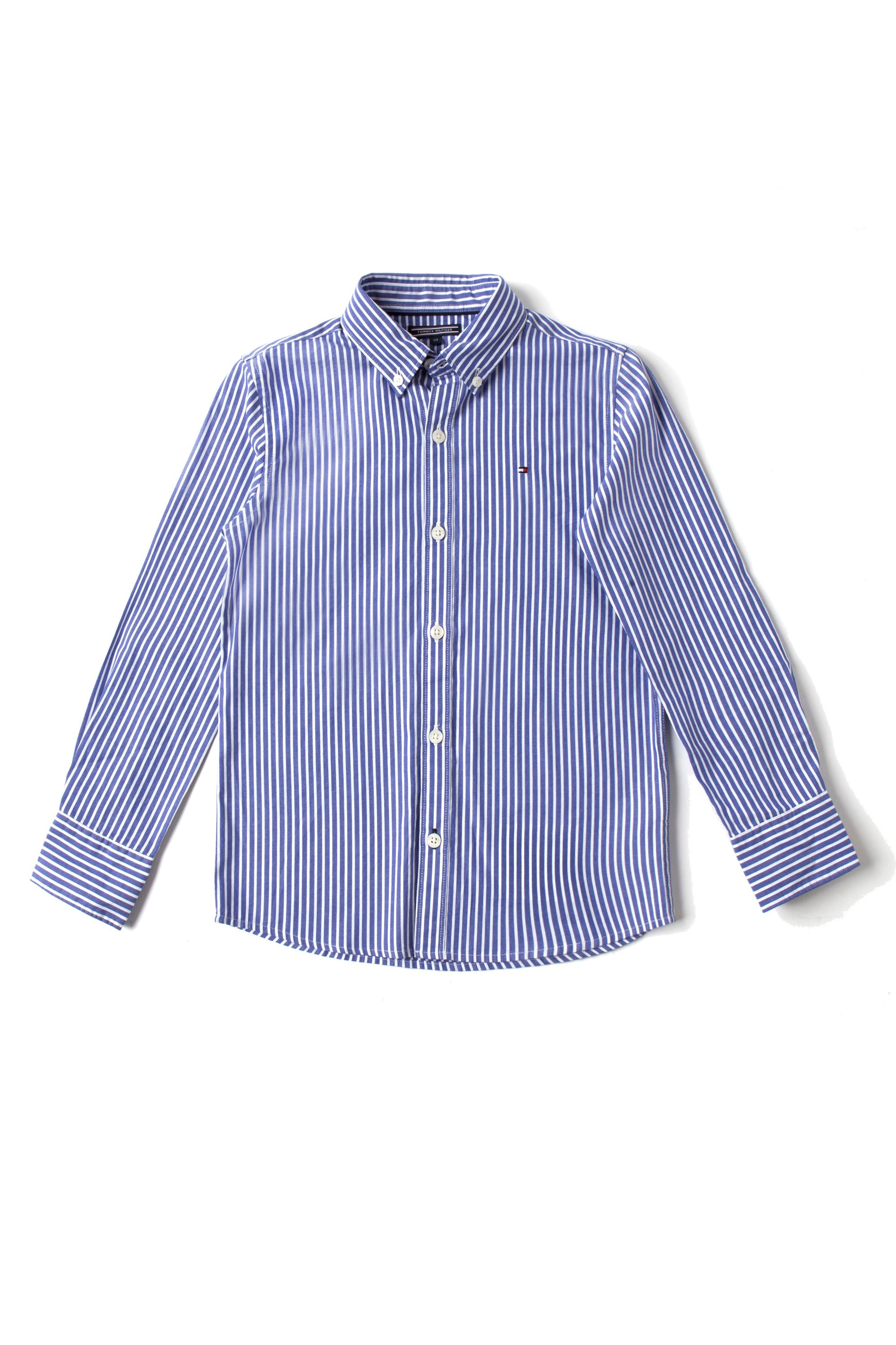Boy`s sander stripe shirt