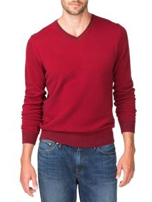 Banker v-neck jumper