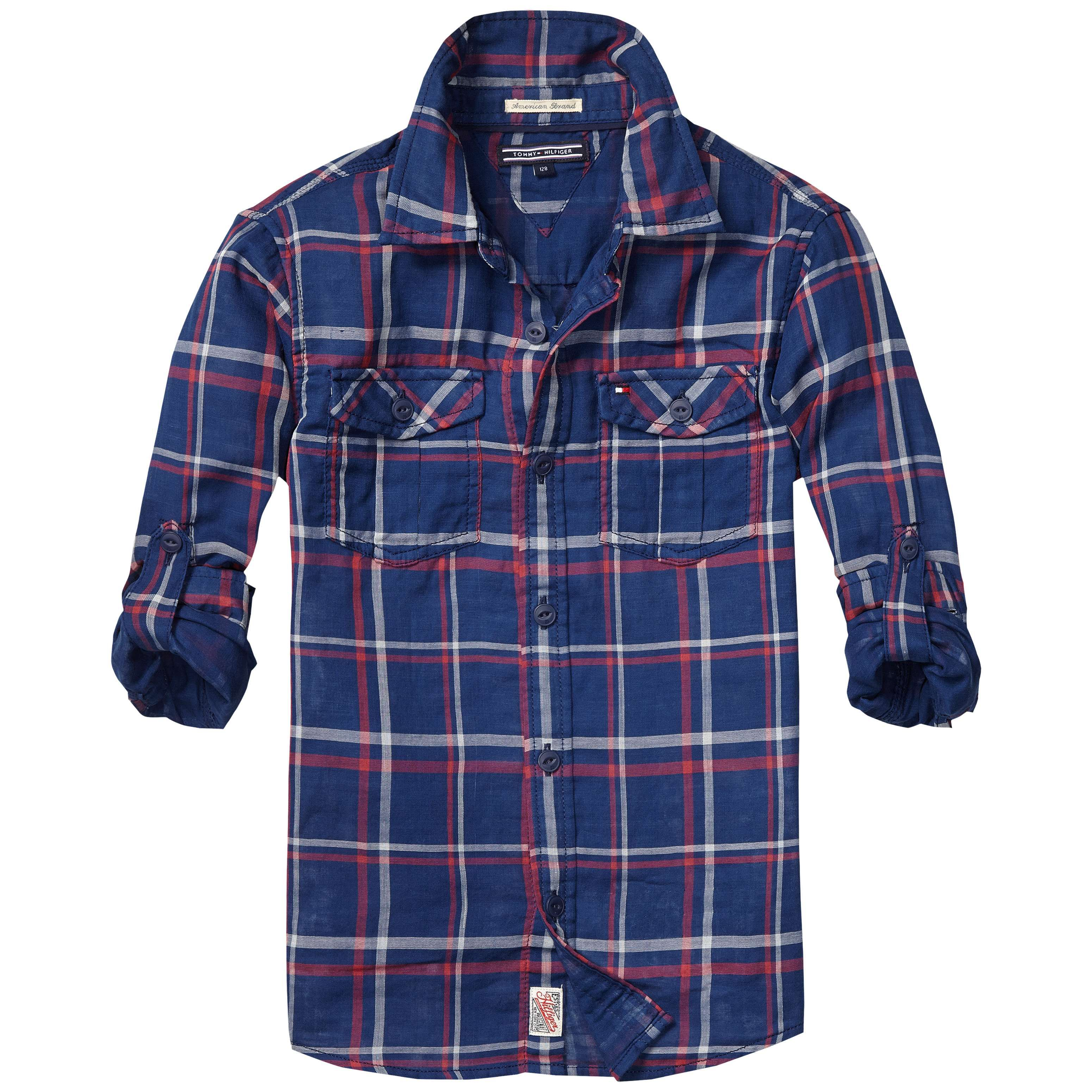 Boy`s valley check shirt