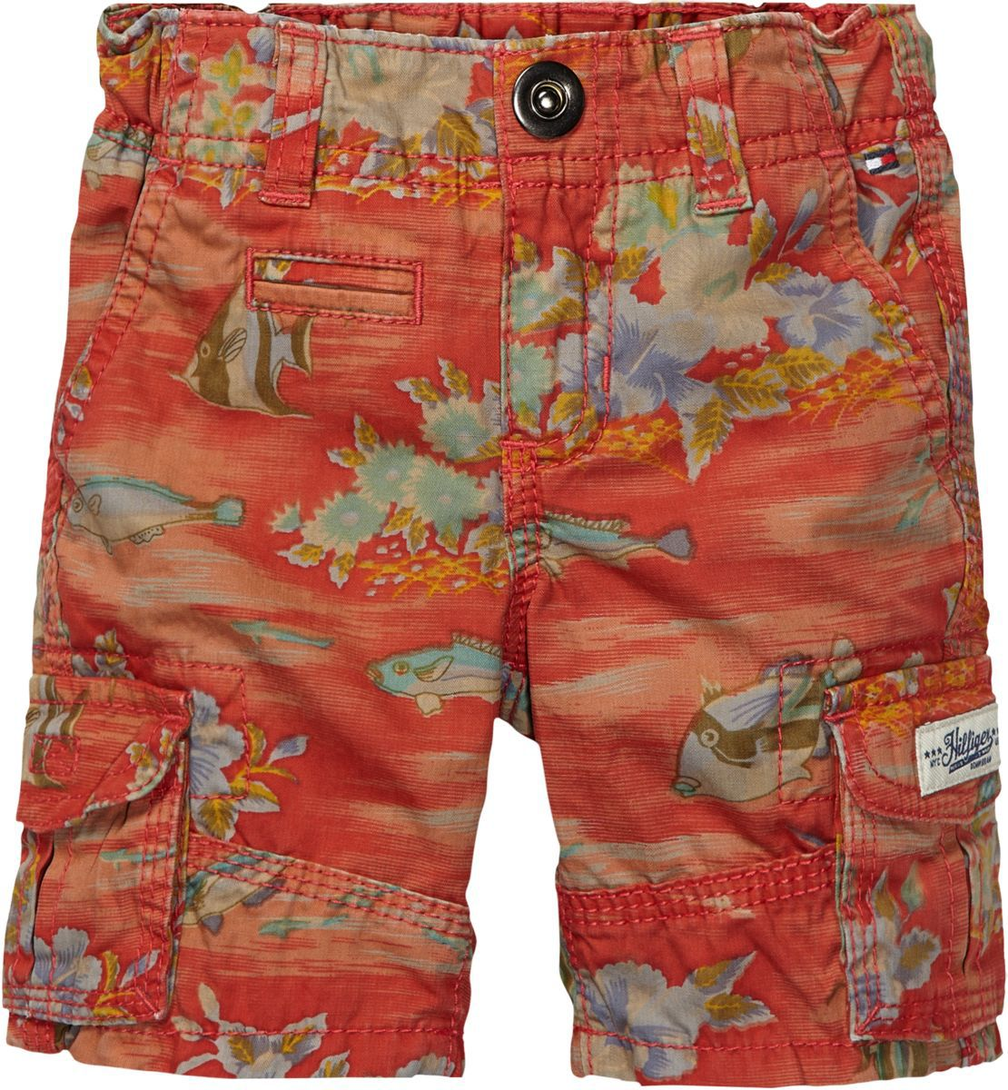 Boy`s all over fish print short