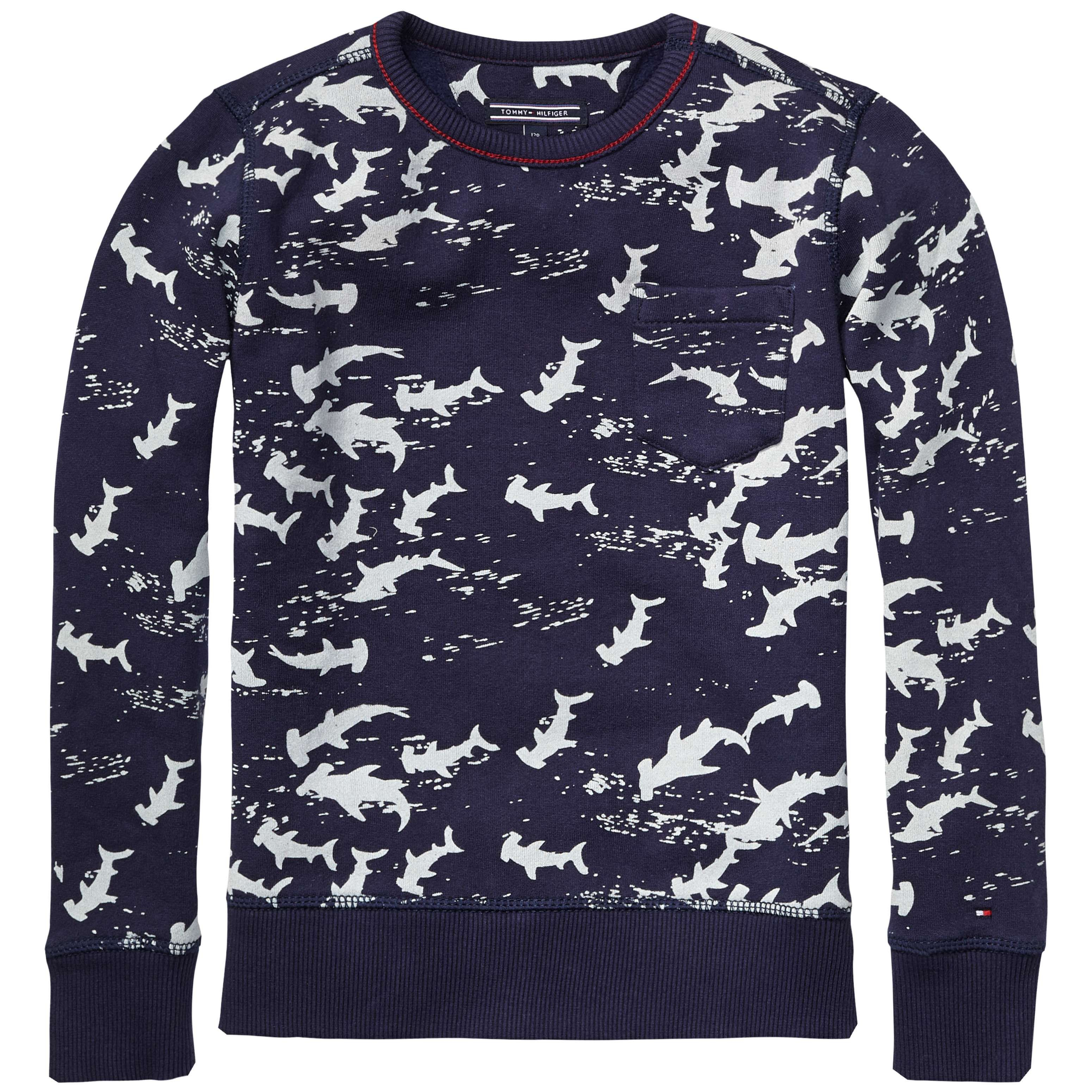 Boy`s hadrian printed sweater