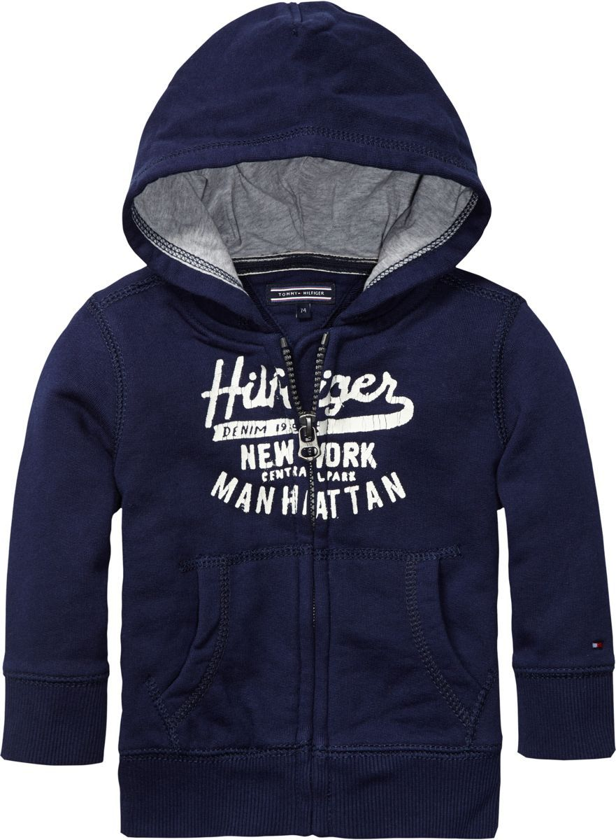 Boy`s Manhattan hooded sweatshirt