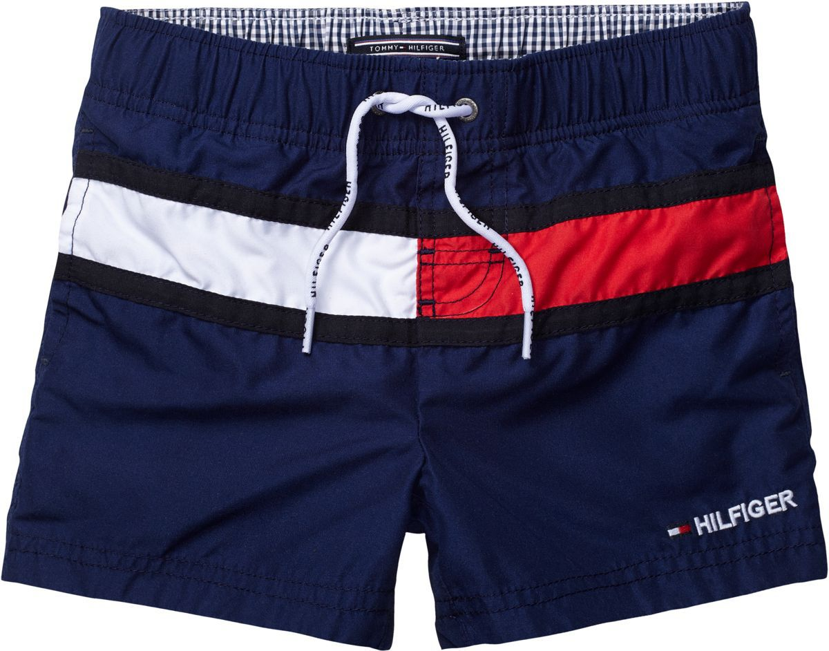 Boy`s flag swim short