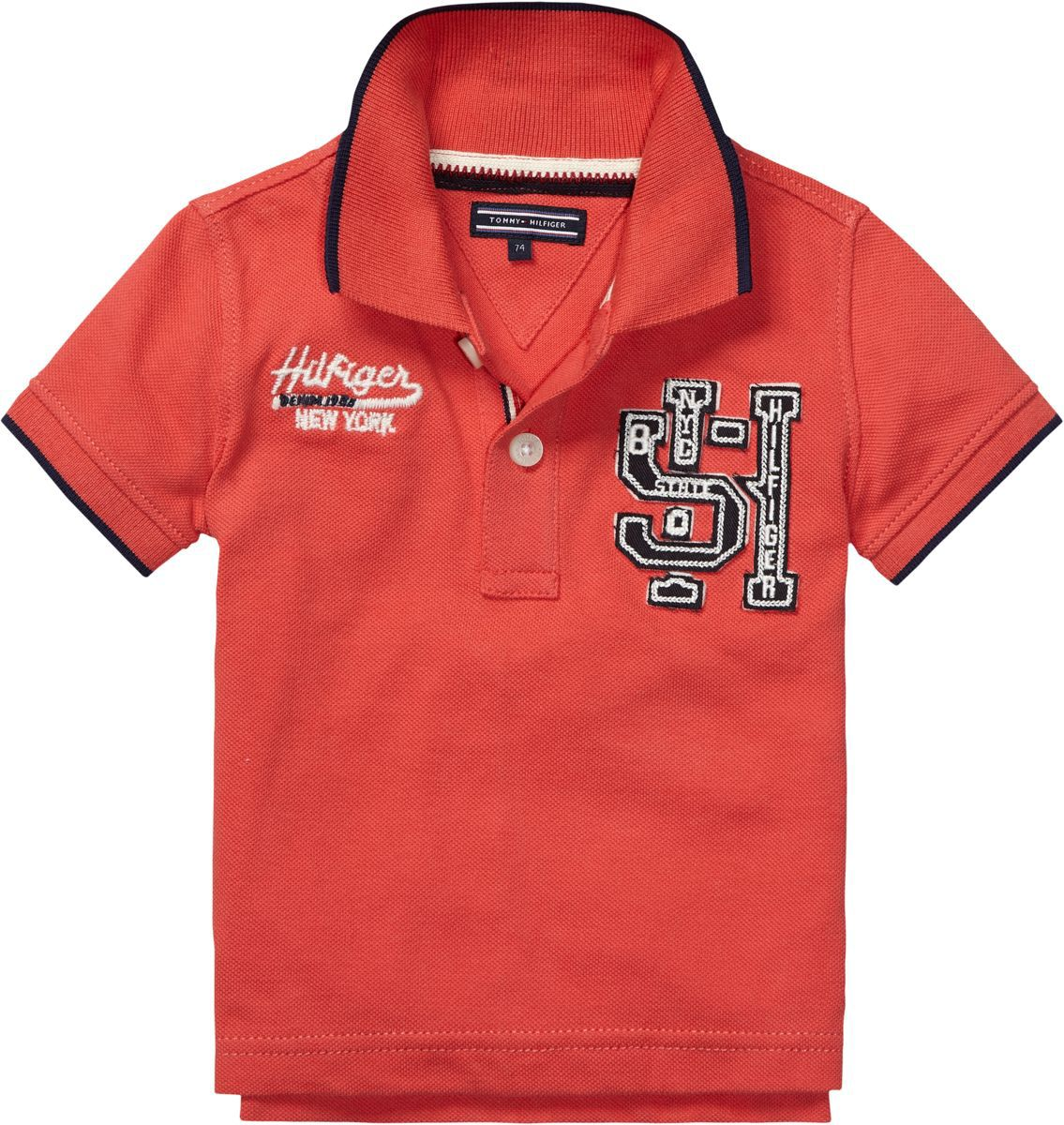 Boy`s badge polo shirt