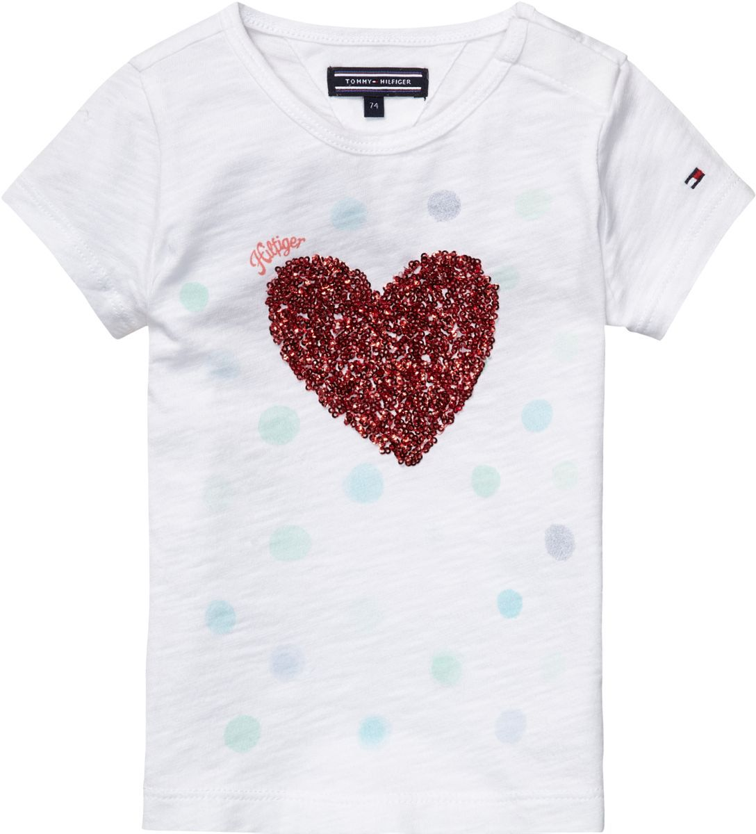Girl`s heart mini t-shirt