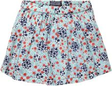 Girl`s flower mini skort
