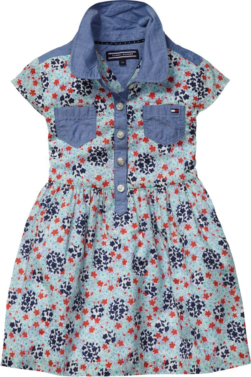 Girl`s glorya flower mini dress