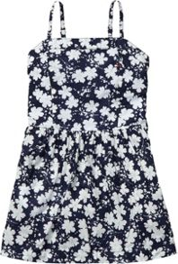 Girl`s marina flower mini dress