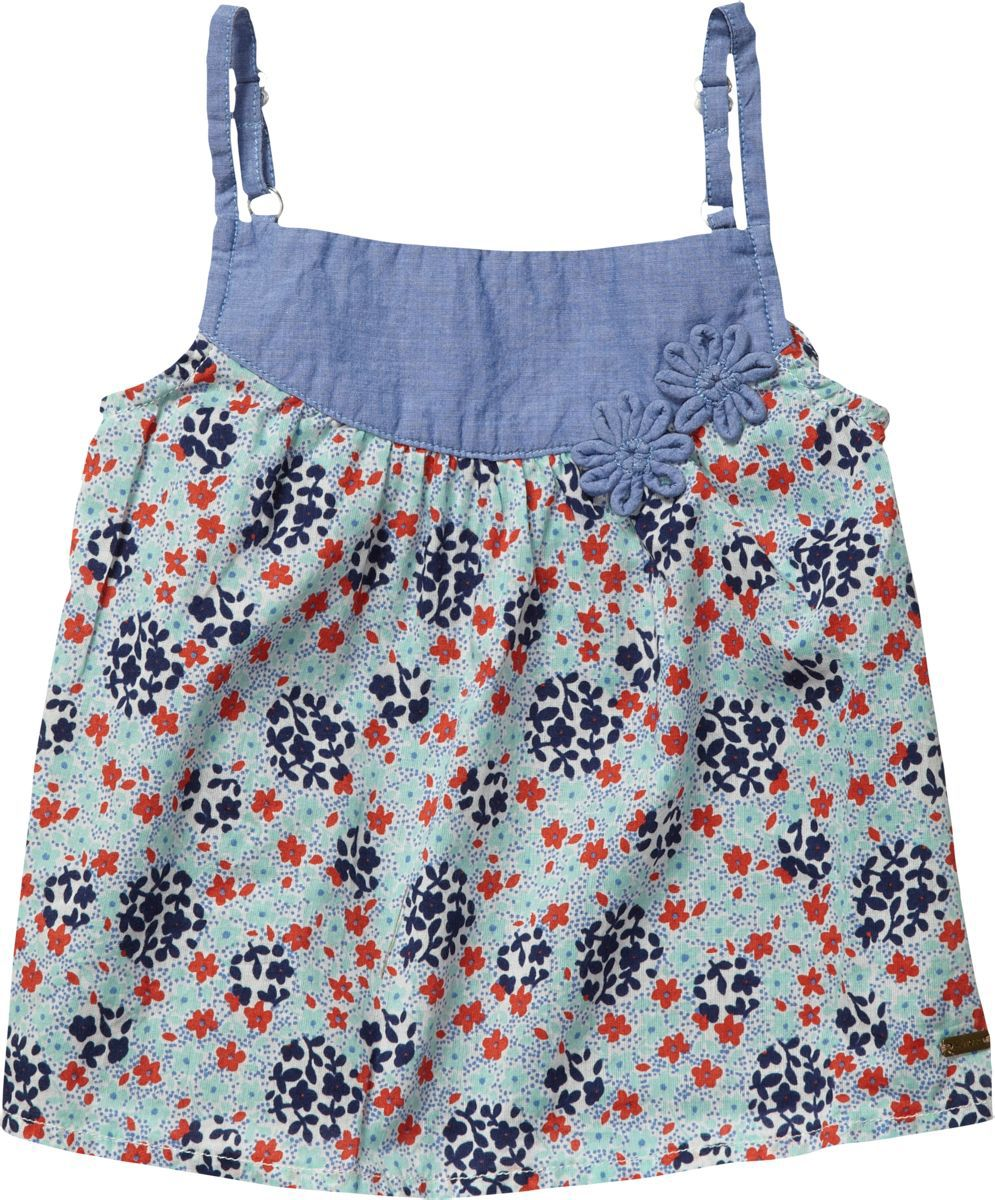 Girl`s glorya flower mini top