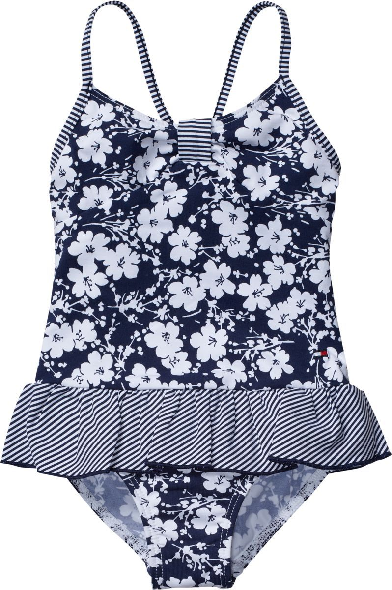 Girl`s print mix mini swimsuit