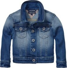 Girl`s denim mini jacket