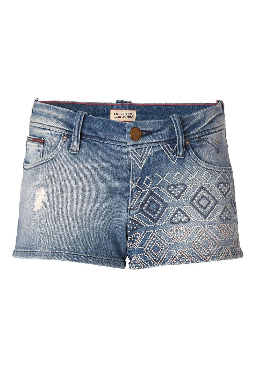 Rosie denim shorts
