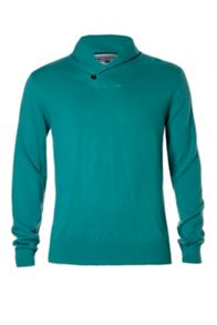 Pacific shawl neck jumper