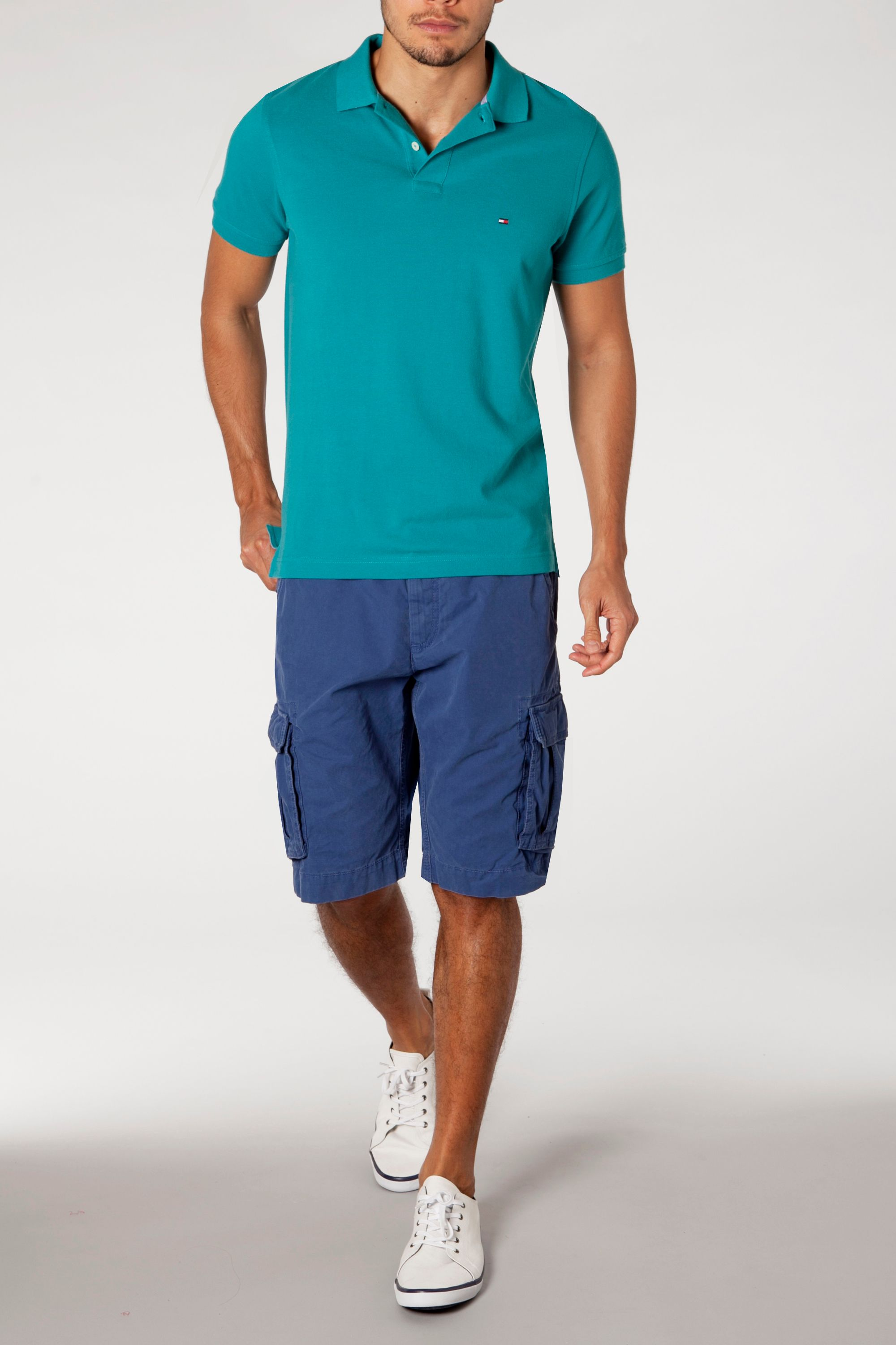 Tommy slim fit short sleeve polo