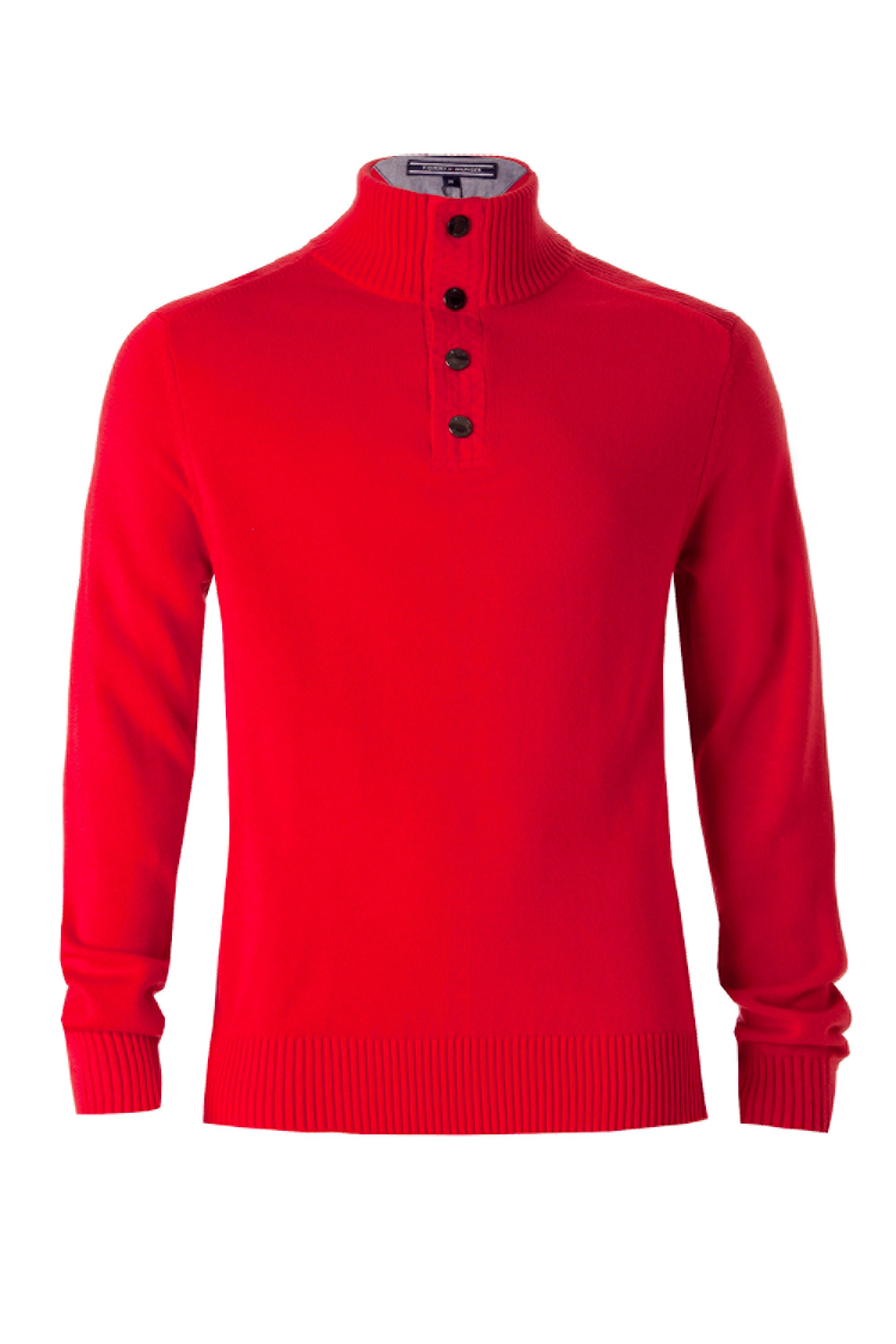 Denton button mock jumper