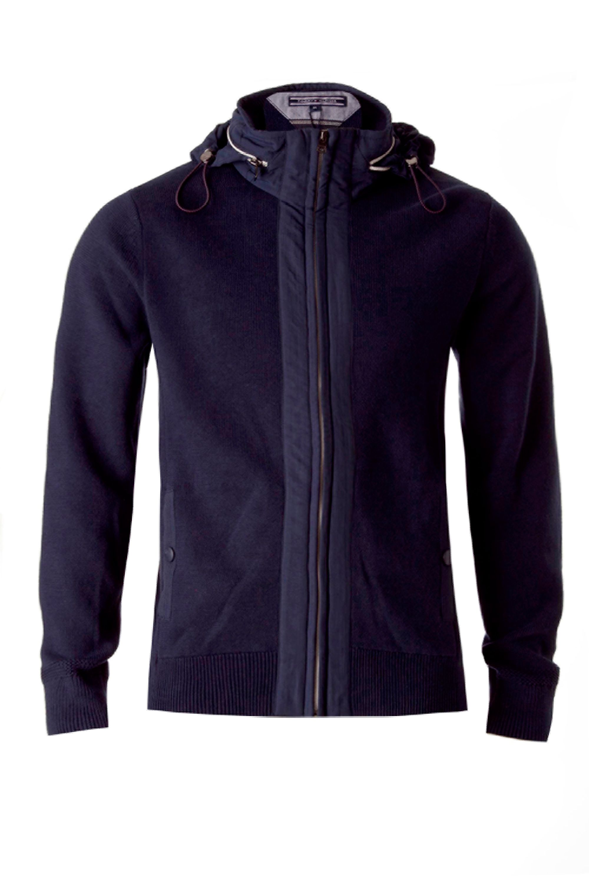 Denton hooded top