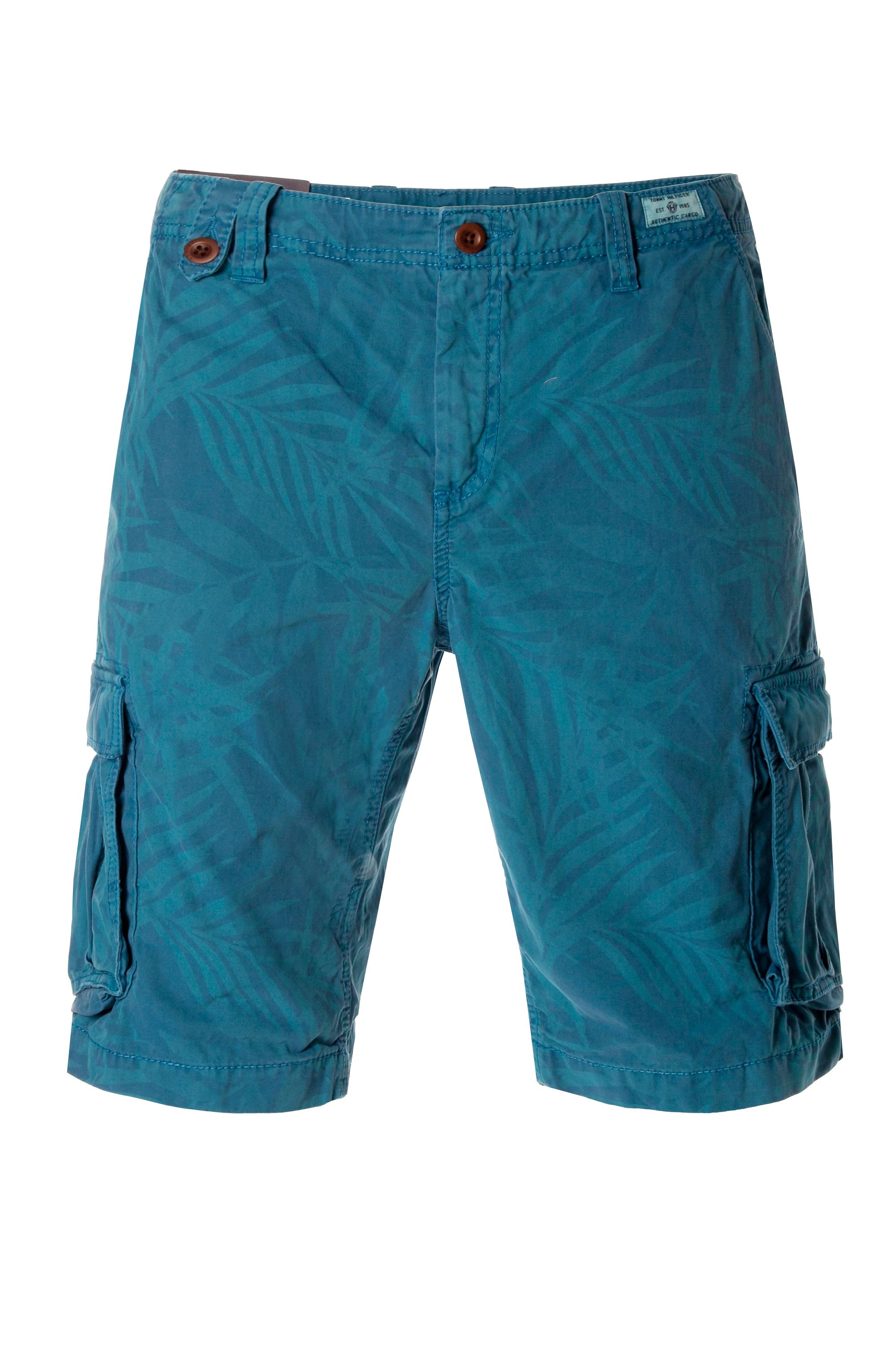 Jake cargo leaf print short