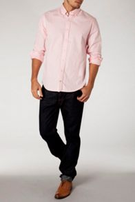 Sun-bleached oxford shirt