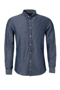 Diamond chambray shirt