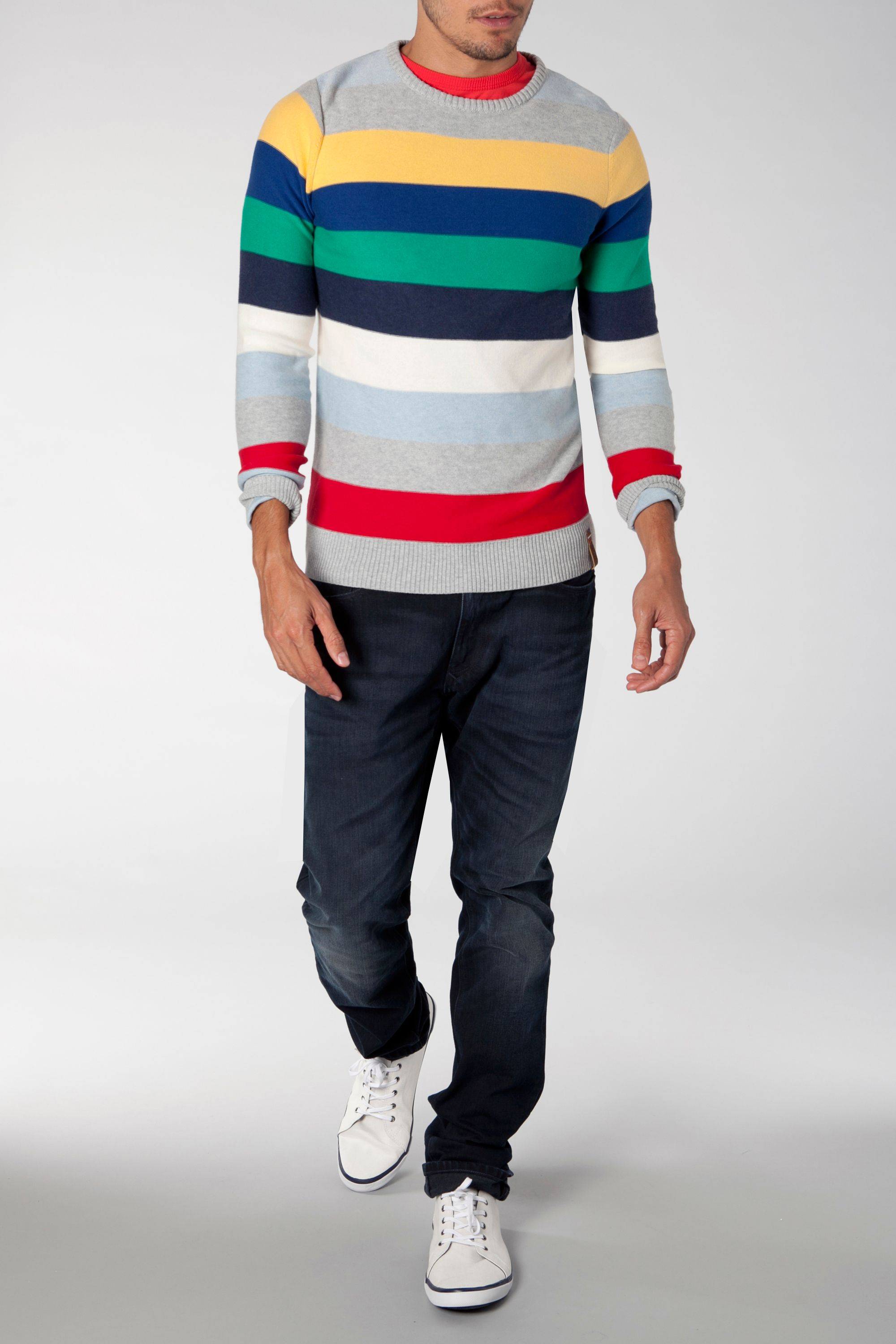 Tom stripe sweatshirt
