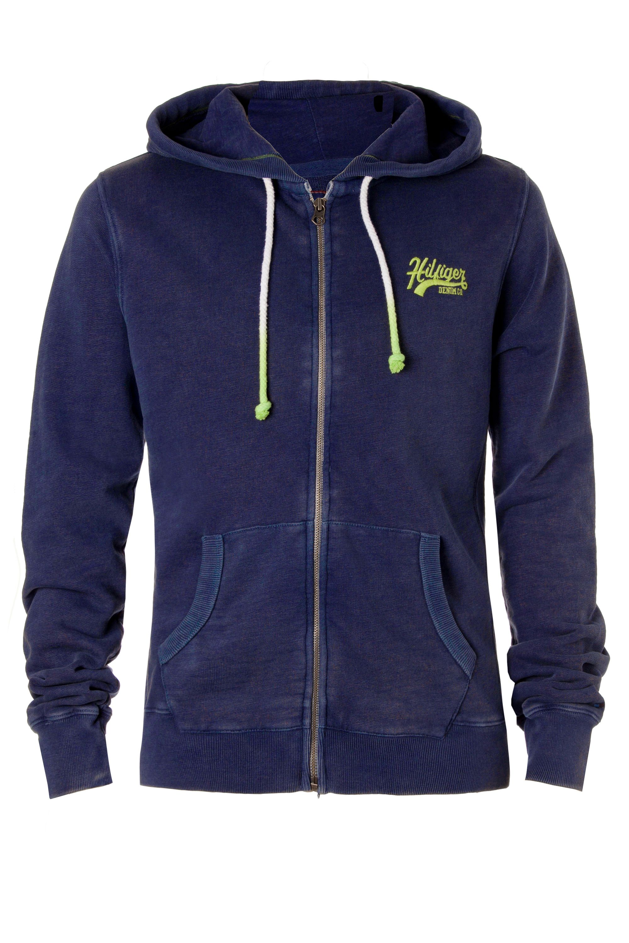 Hollywood hooded zip-through