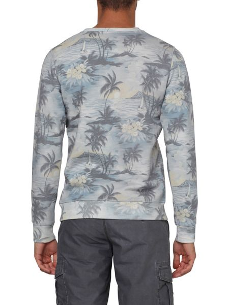 O'Neill Oasis Pattern Crew Neck Pull Over Jumper