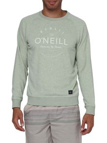 Pacific Coast Highway Print Crew Neck Jumper