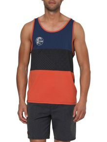O`Riginals Tranquil Pattern Crew Neck Tank Top