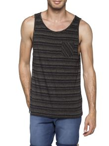 O`Riginals Devonian Stripe Crew Neck Tank Top