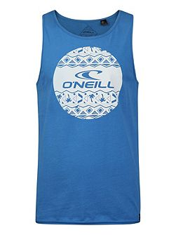 Thirst For Surf Print Crew Neck Tank Top